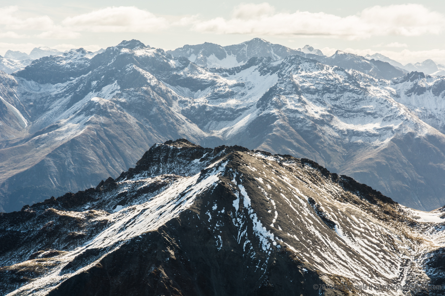 Southern Alps From The Air 3, New Zealand