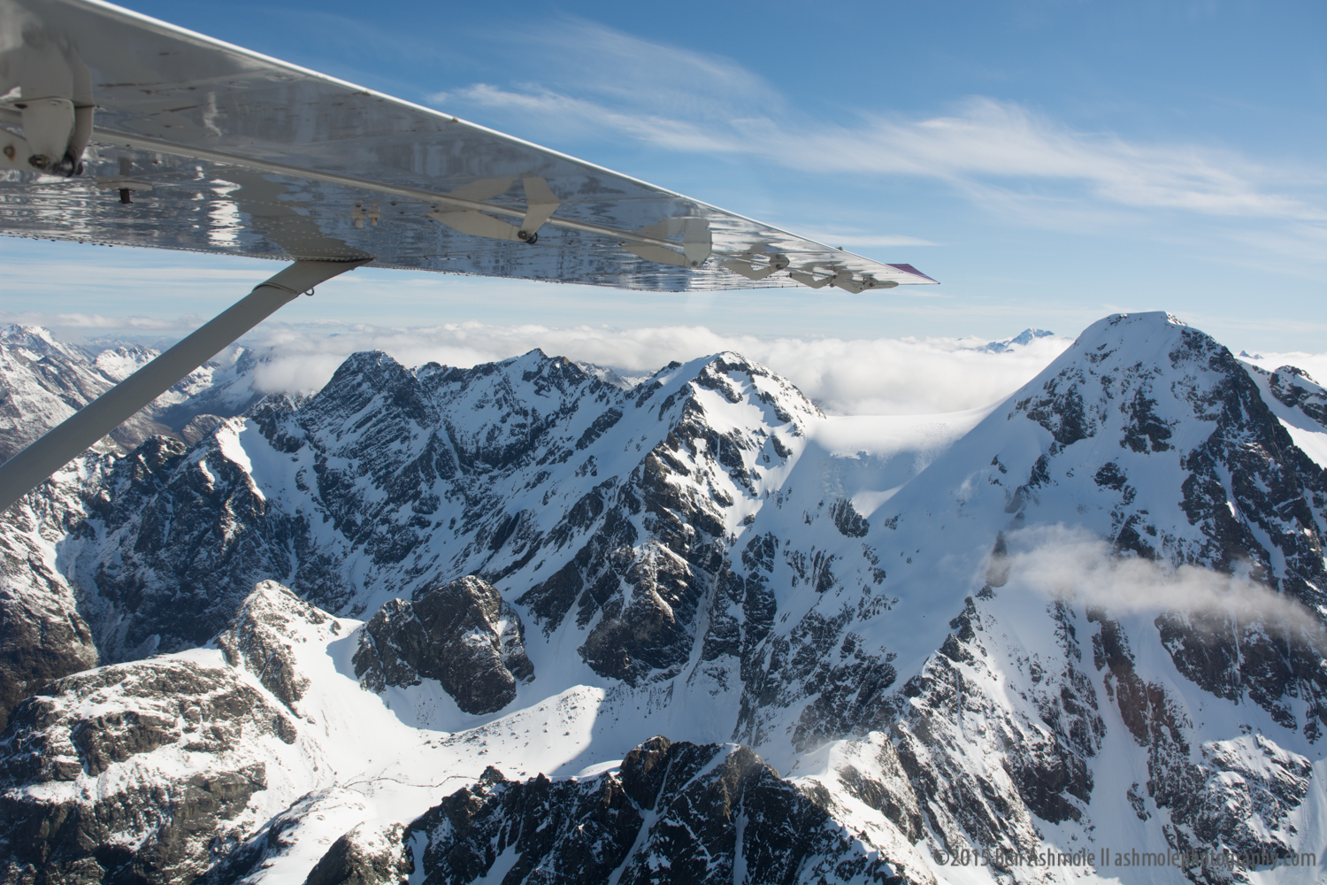 Southern Alps From The Air, New Zealand