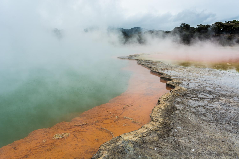 The Lost World, Waiotapu, New Zealand