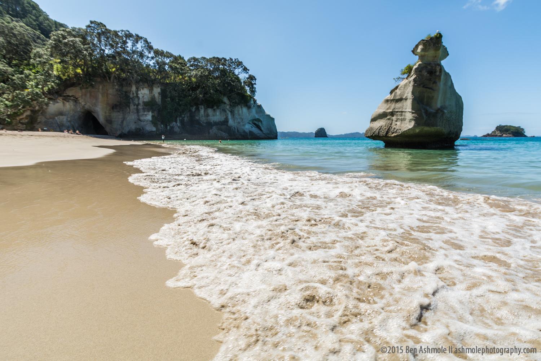 Calm Surf, Cathedral Cove, Coromandel, New Zealand