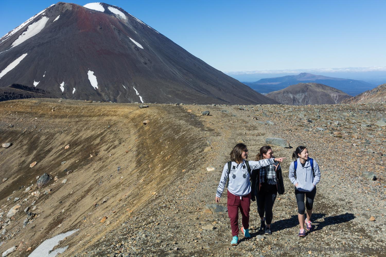 Crossing Mt Doom, Tongariro Crossing, New Zealand