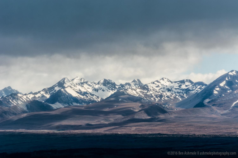 Stormy Mountains, Fjordland National Park, New Zealand