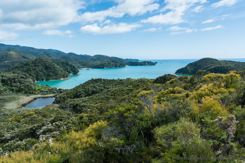 Anchorage Bay, Abel Tasman National Park, New Zealand