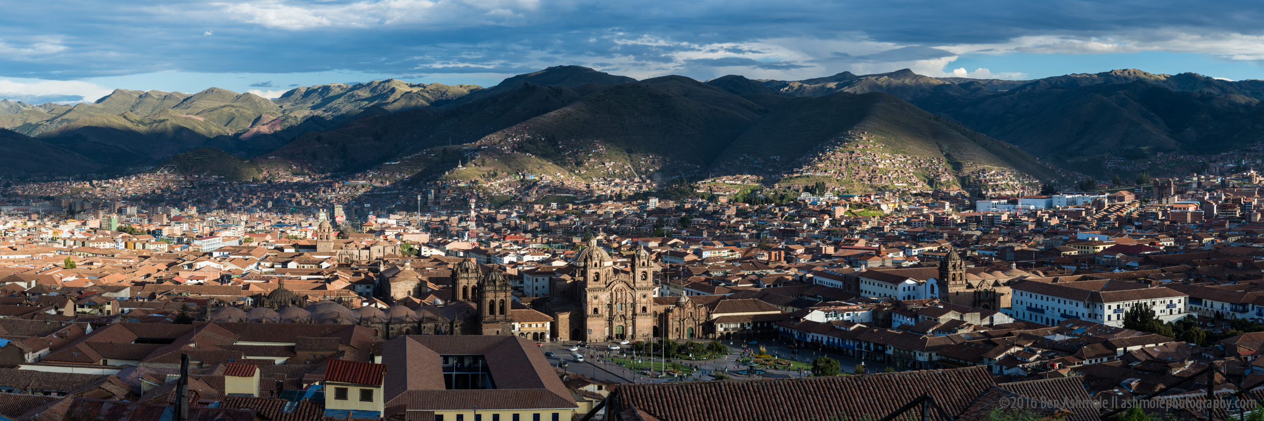 Cusco City Panorama, Peru, Ben Ashmole.jpg