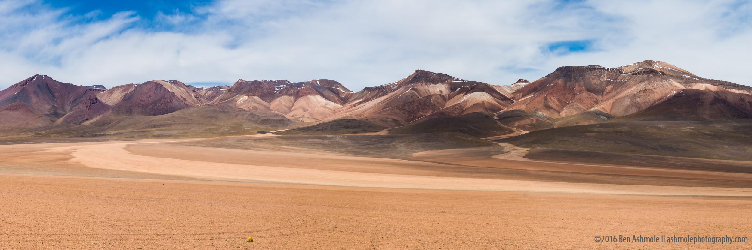 Desert Mountain Panorama, Bolivian Highlands