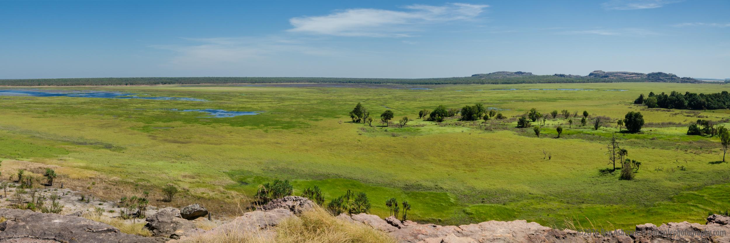 Floodplain Panorama, Ubirr, Kakadu National Park, NT, Australia