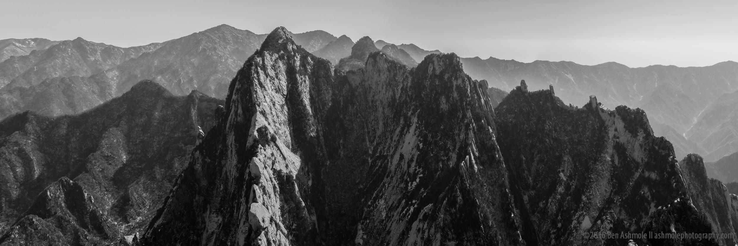 Hua Shan Mountain Range, Shaanxi Province, China