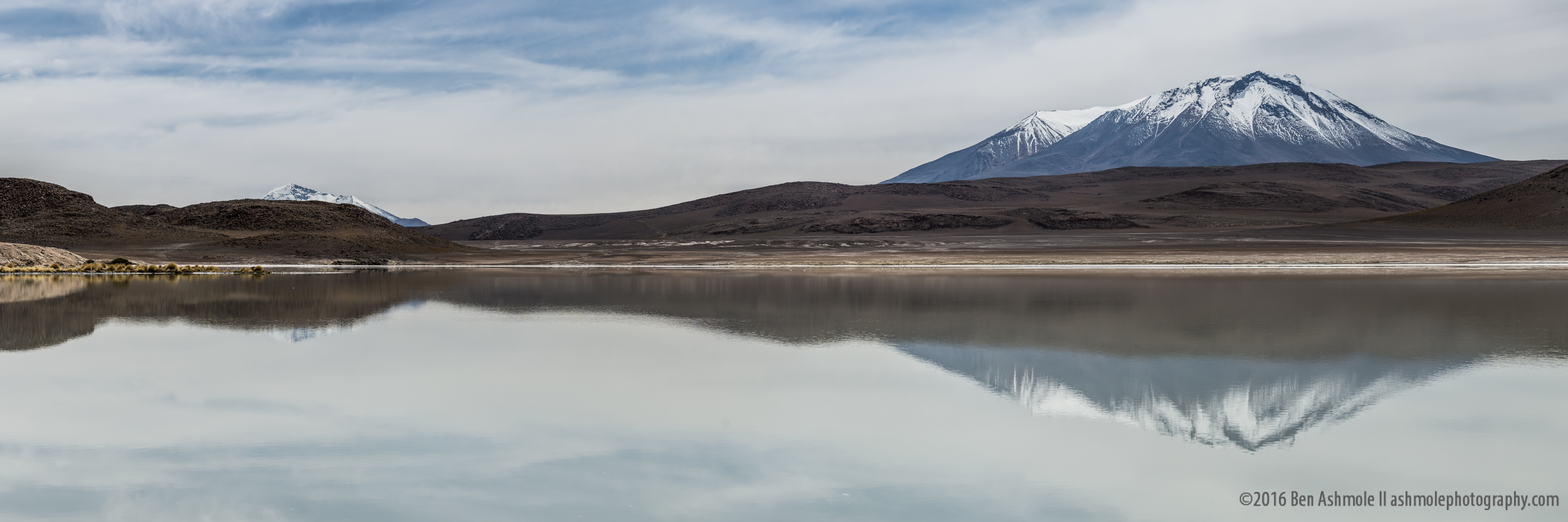 Lake Chiar Kota Panorama, Bolivian Highlands