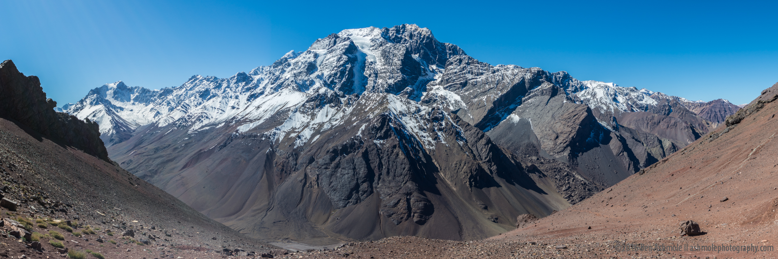 The Andes Panorama, Uspallata Pass, Chile