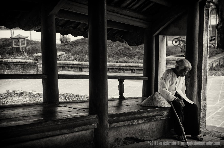 Taking a Rest, Hue, Vietnam, Ben Ashmole