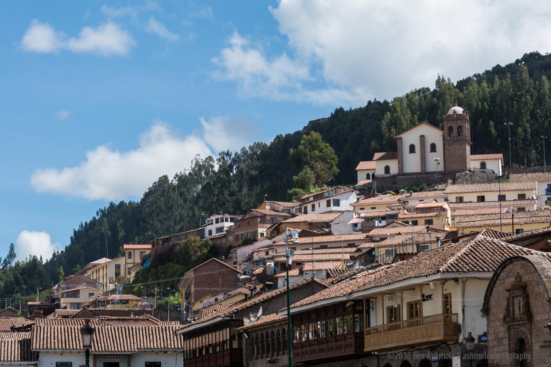 Cusco Rooftops 3, Peru
