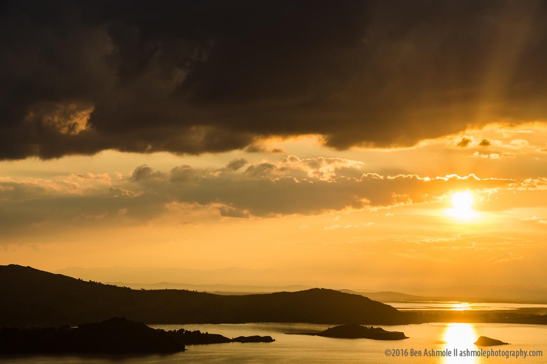 Lake Titicaca Sunset, Peru