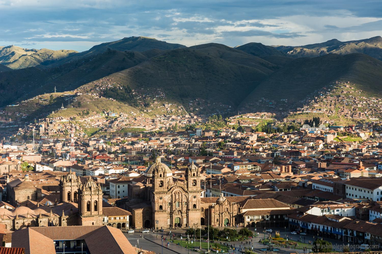 Cusco Cityscape, Peru