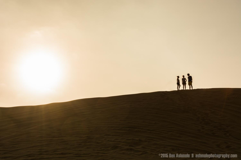 On Top Of The Dune, Huacachina, Peru