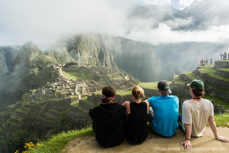 Looking Over Machu Picchu, Peru