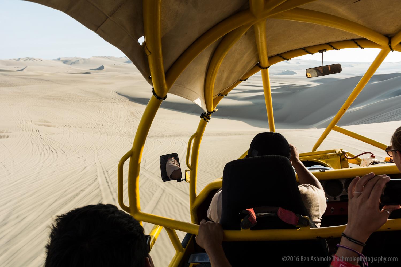 Dune Riding, Huacachina, Peru