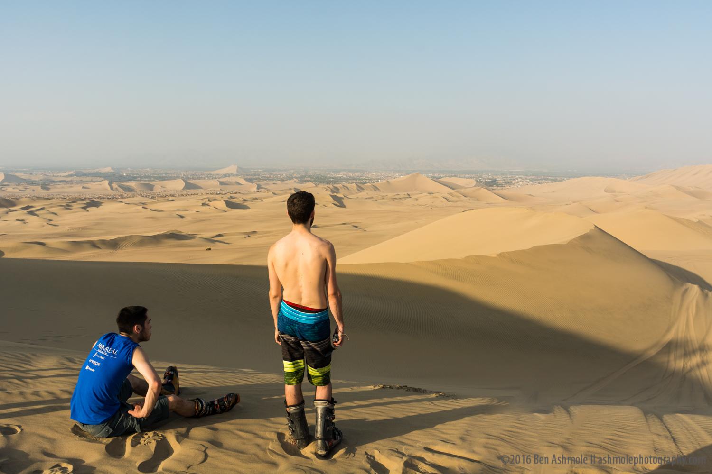 Dune Riding 2, Huacachina, Peru