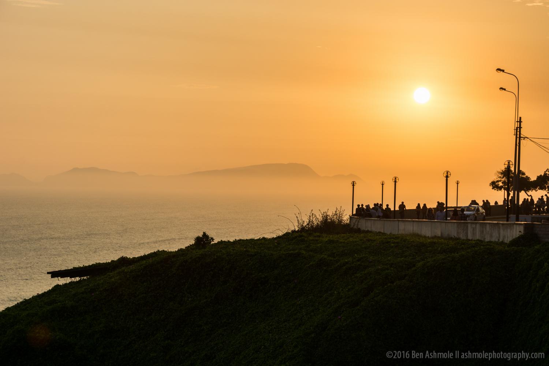 Lima Sunset 2, Peru