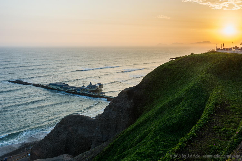 Lima Sunset, Peru