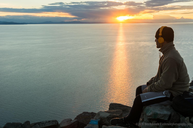 Sunset Over Lake Titicaca 2, Copacabana, Bolivia