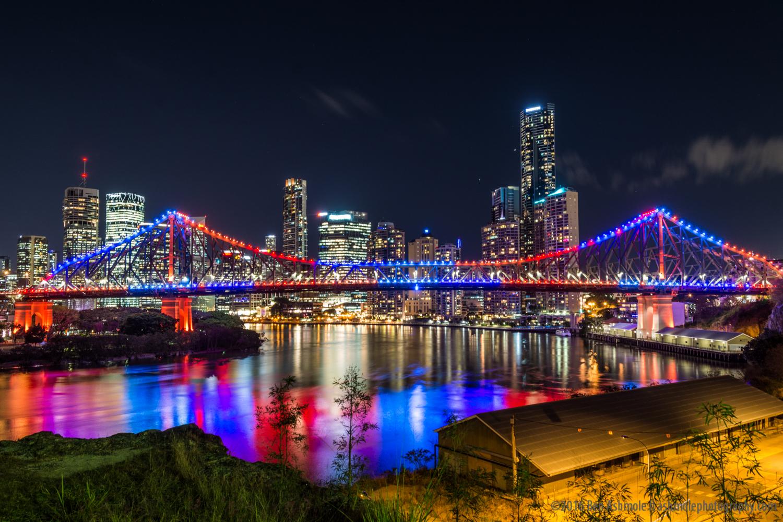 Story Bridge Night, Brisbane, Australia