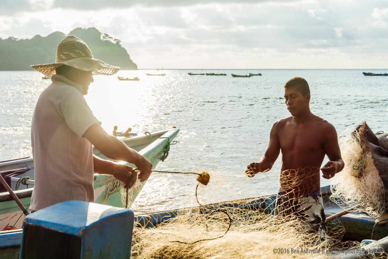 Fixing The Fishing Nets3, Mompiche, Ecuador