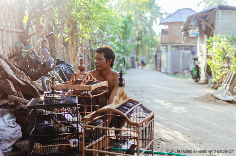 The Bird Keeper, Gili Air, Indonesia