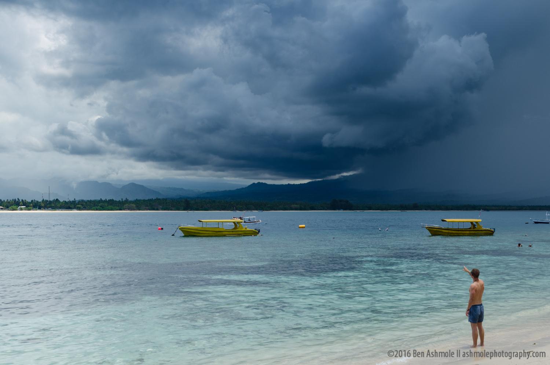 Gili Storm, Gili Air, Indonesia