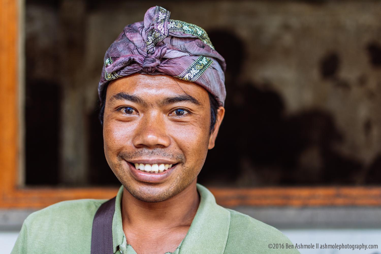 Ubud Portrait, Bali, Indonesia