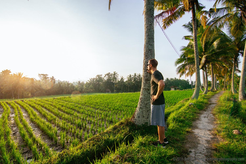 Rice Terraces Selfie, Ubud, Indonesia