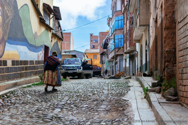 Walking On Cobbles 2, Coroico, Bolivia