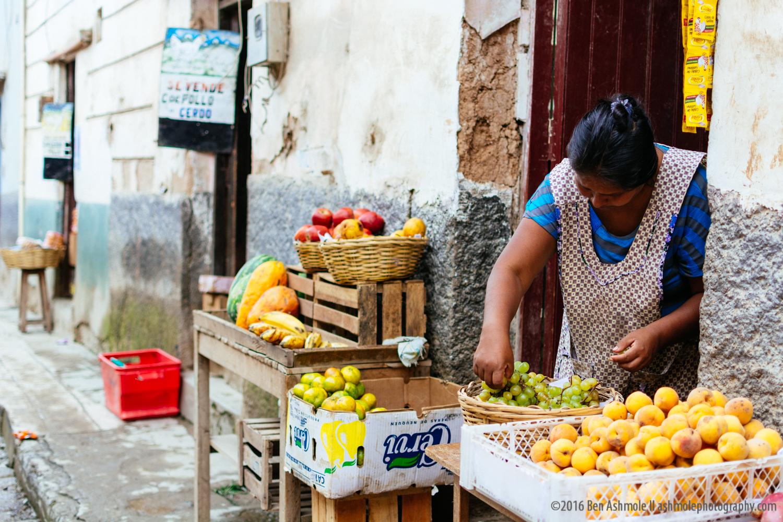 Street Stall, Coroico, Bolivia