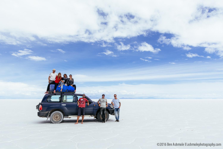 Uyuni Tour Group With 4x4, Uyuni Salt Flats, Bolivian Highlands