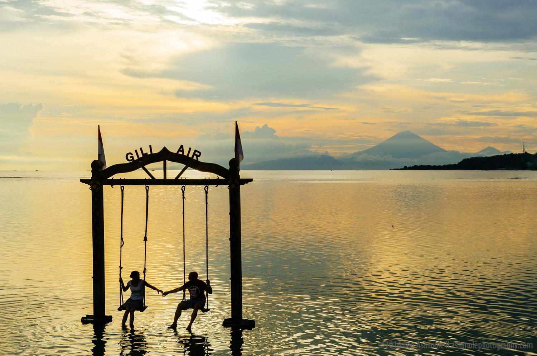 The Swings, Gili Air, Indoneisa
