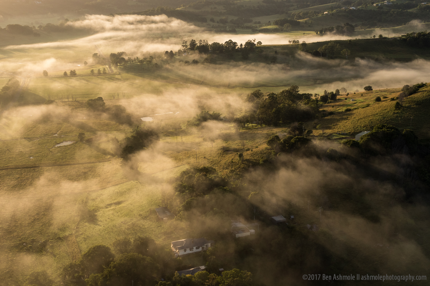 Morning Fog, Byron Bay, NSW, Australia