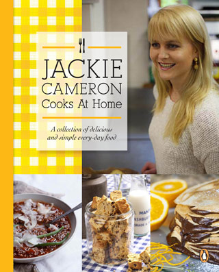 Jackie Cameron Cooks At Home Recipe Book
