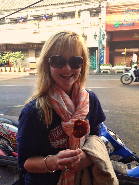 Jackie Cameron in Thailand