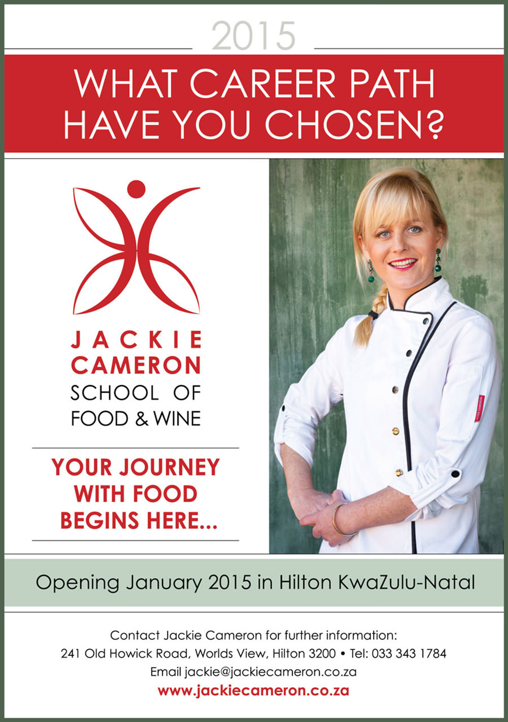 Jackie Cameron School of Food and Wine