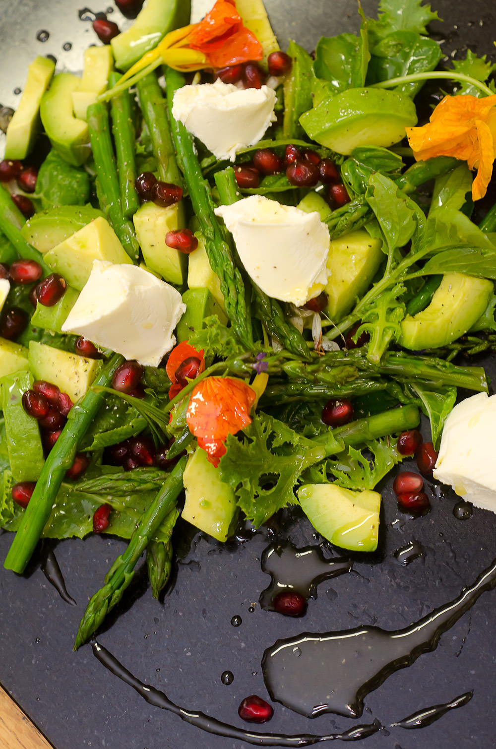 Avocado and Asparagus Salad