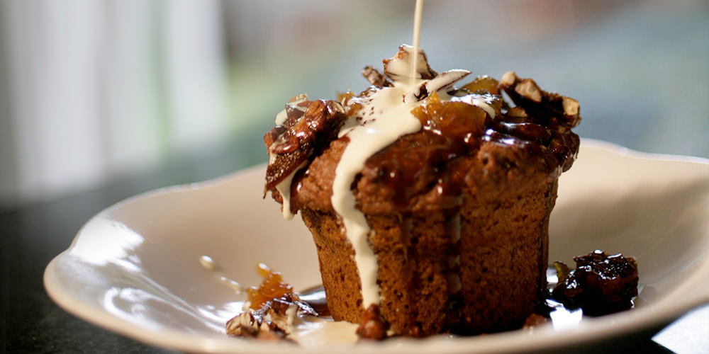 Tantallon's Pecan or Walnut Toffee Pudding