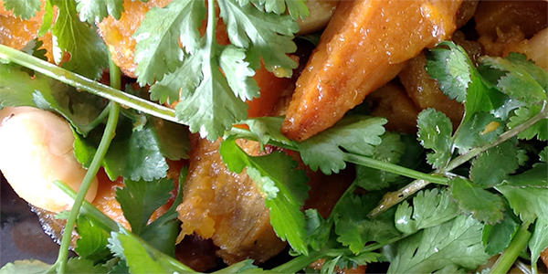 Roasted Butternut and Ginger Butterbean Salad