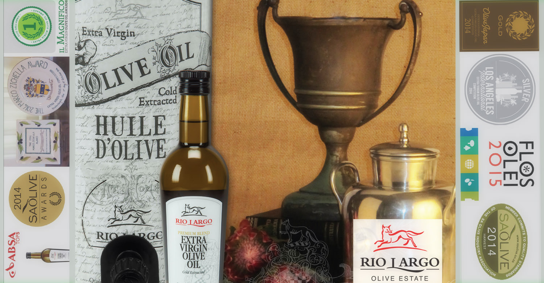 Award-winning, Rio Largo olive Oil