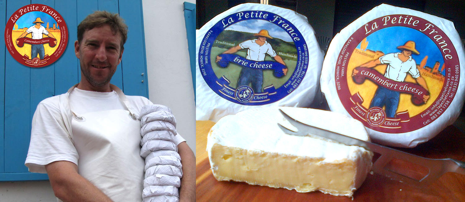 Grant Warren from La Petite France and their signature cheeses.