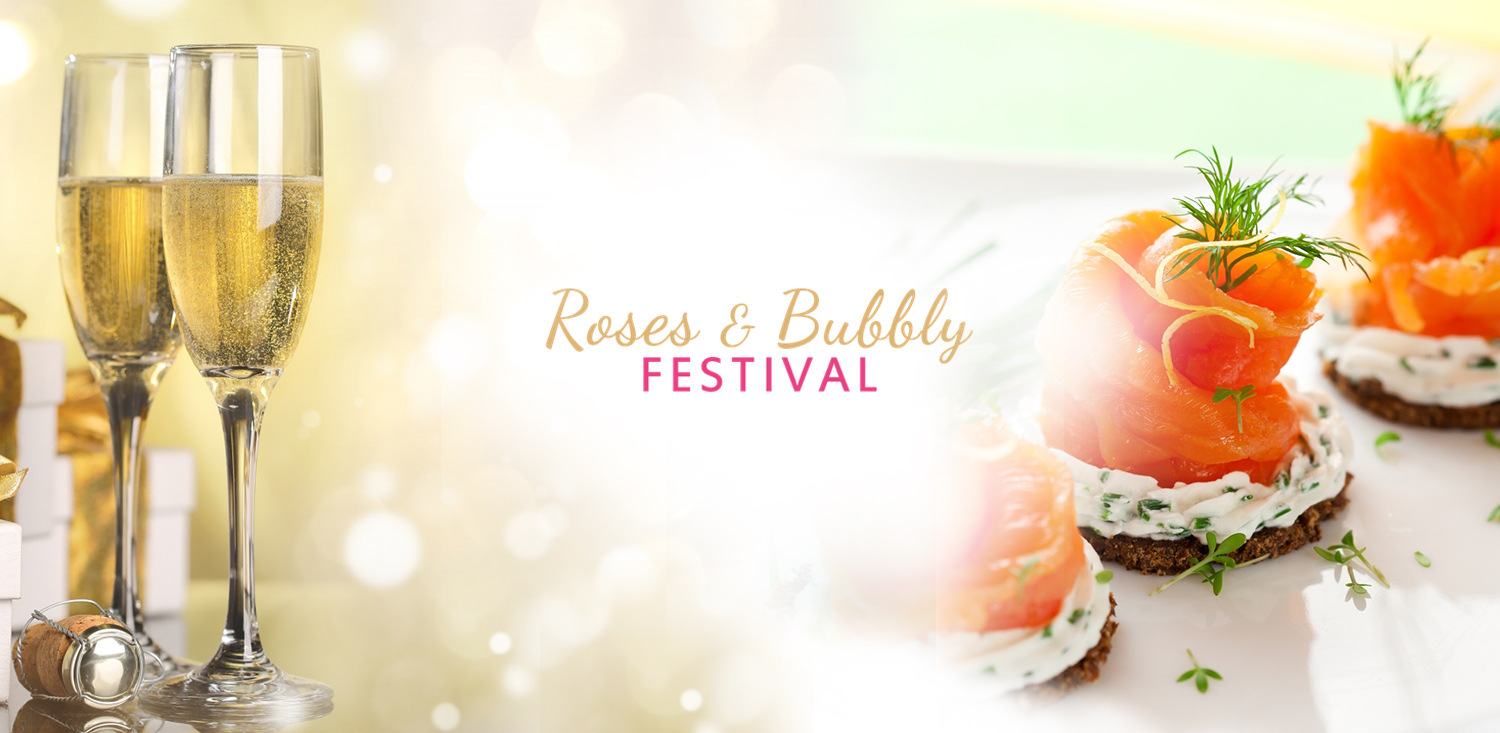 Roses and Bubbly Festival