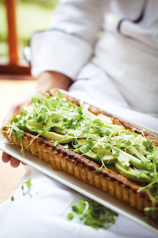 Green Salad Tart