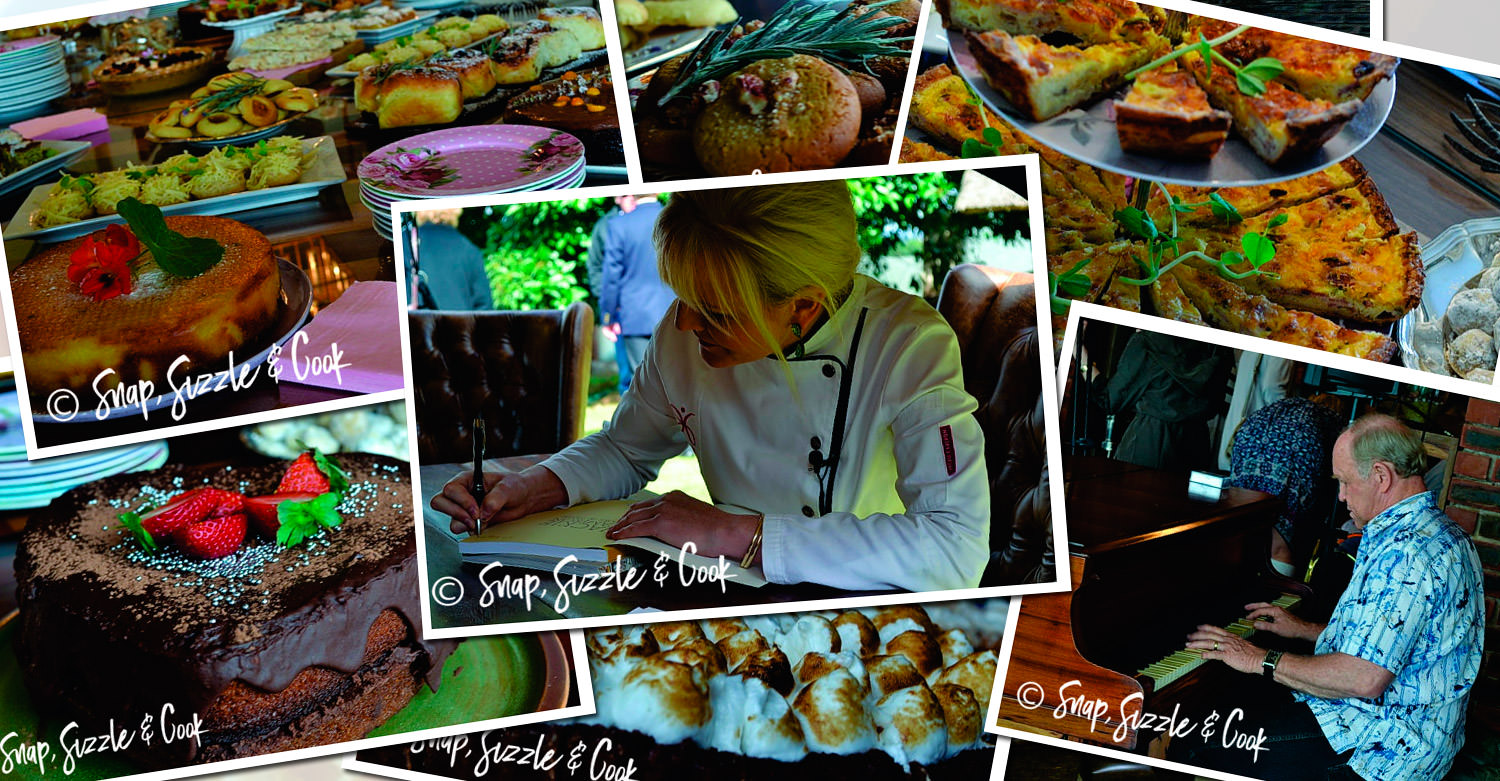 Baking with Jackie Cameron Book Launch / Snap, Sizzle & Cook (p)