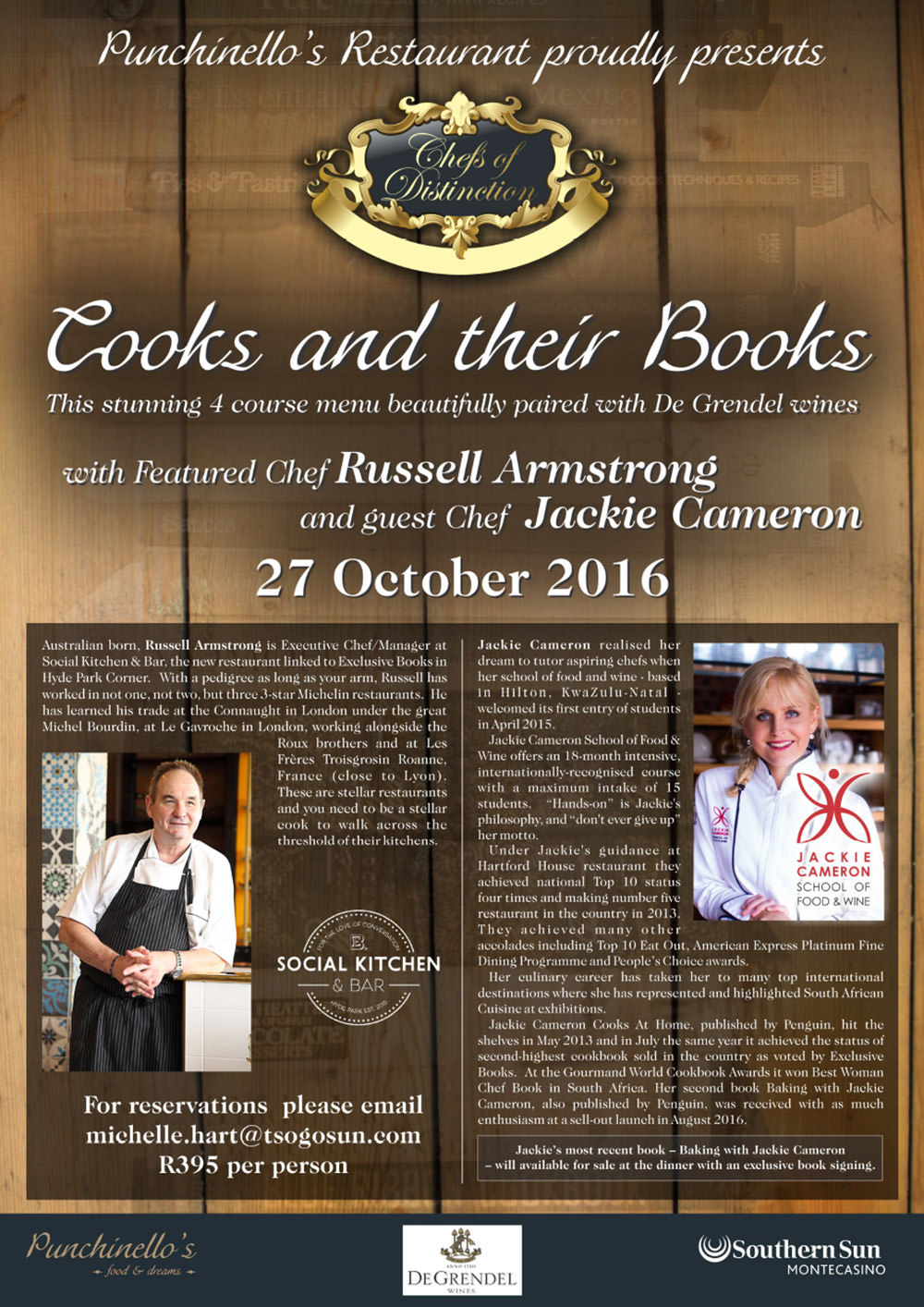Cooks Books Jackie Cameron Russell Armstrong