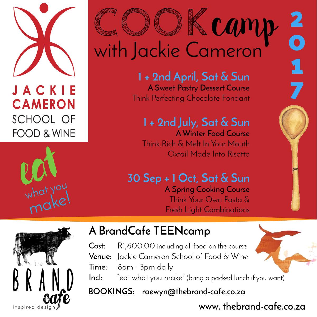 Jackie Cameron Cook Camp