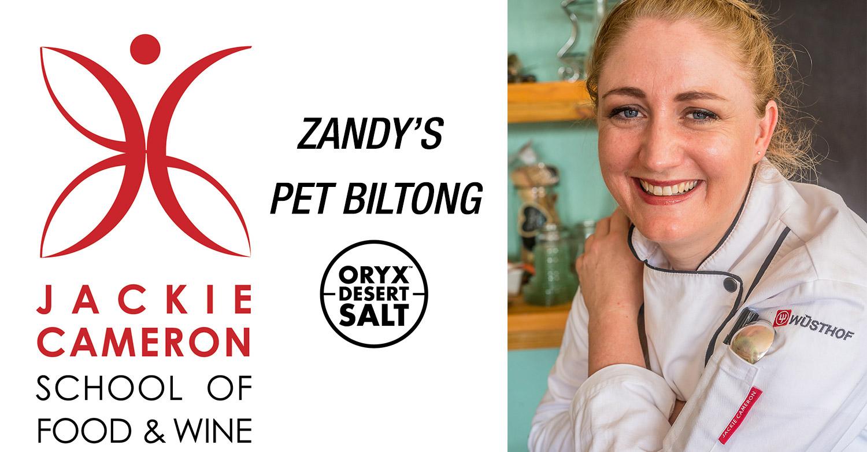 Zandy's Oryx Desert Salt Pet Biltong Recipe