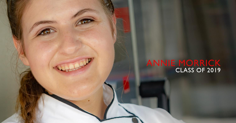 Annie Morrick - Jackie Cameron School of Food & Wine